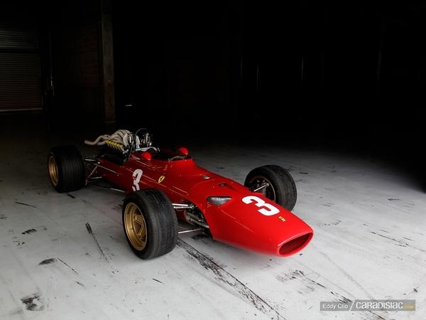 Photos du jour : Ferrari 312 (Modena Track Days)