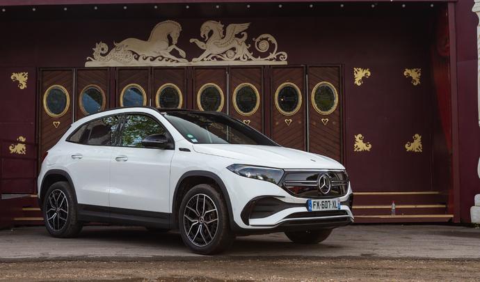 Mercedes EQA : le GLA électrique - Salon Caradisiac Électrique/hybride 2021