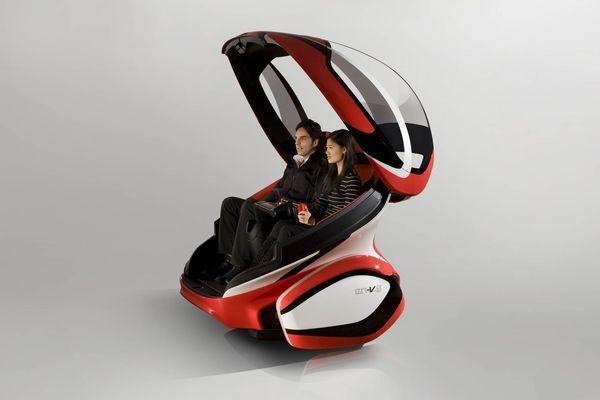 Concepts GM EN-V : quand GM, Segway et SAIC réinventent l'Isetta