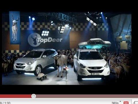 [vidéo pub] Hyundai invente Top Deer
