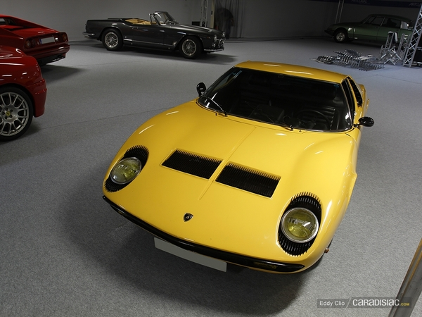 Photos du jour : Lamborghini Miura S (Vente Artcurial)