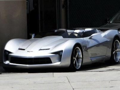 Concept Corvette Stingray : maintenant il perd la tête