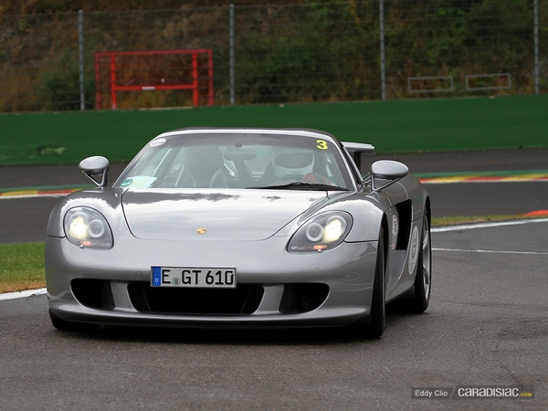 Photos du jour : Porsche Carrera GT (Modena Track Days)