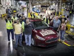 Ford fête son 5 millionième moteur Ecoboost