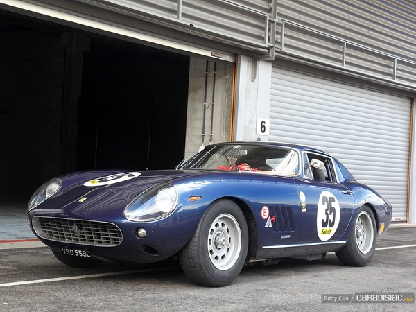 Photos du jour : Ferrari 275 GTB (Modena Track Days)