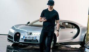 Cristiano Ronaldo approuve la Bugatti Chiron