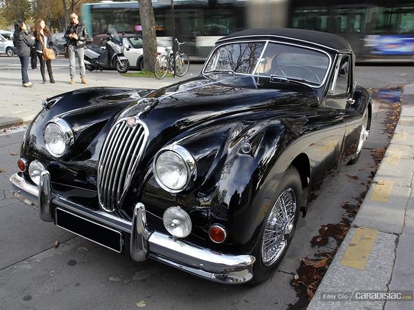 Photos du jour : Jaguar XK 140