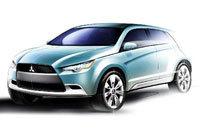 Mitsubishi concept cX pour Francfort