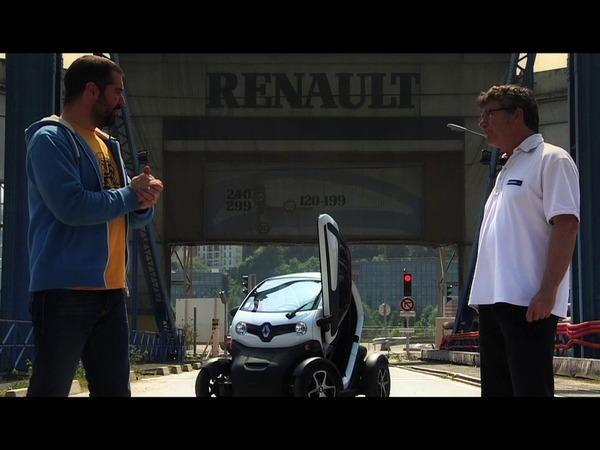 What is it - François vous explique la Renault Twizy, le coléoptère électrique