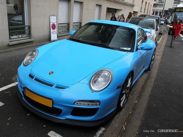 Photos du jour : Porsche 911 997 GT3 CS