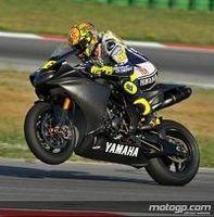 Moto GP - Rossi: Les images du test de Brno