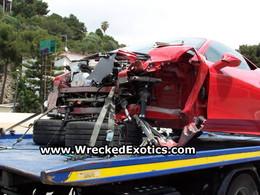 Ferrari 458 Italia : cette fois, elle est complétement détruite