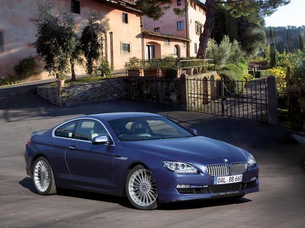 Alpina B6 : plus fort qu'une BMW M6 F13
