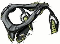 Nouvelle protection cervicale Leatt Brace pour la route