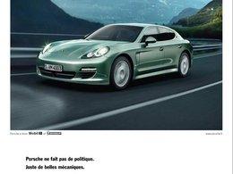 [Pub] Quand Porsche se place au dessus des partis ...