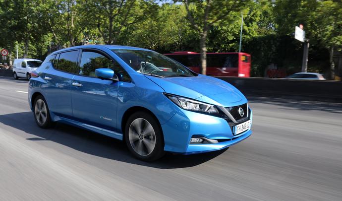 Vidéo - La Nissan Leaf e+ jusqu'à la panne : sur le podium !
