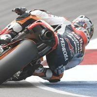 Moto GP - République Tchèque J.1: Dani Pedrosa résiste aux Yamaha