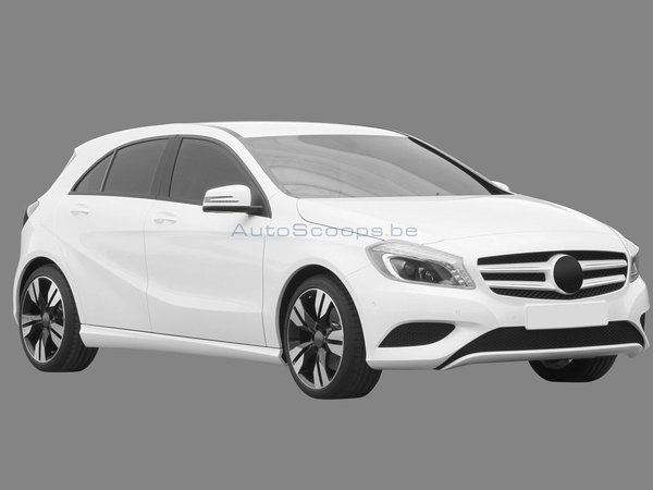 Future Mercedes Classe A 5 portes : la voilà