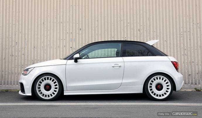 Photos du jour : Audi A1 Quattro
