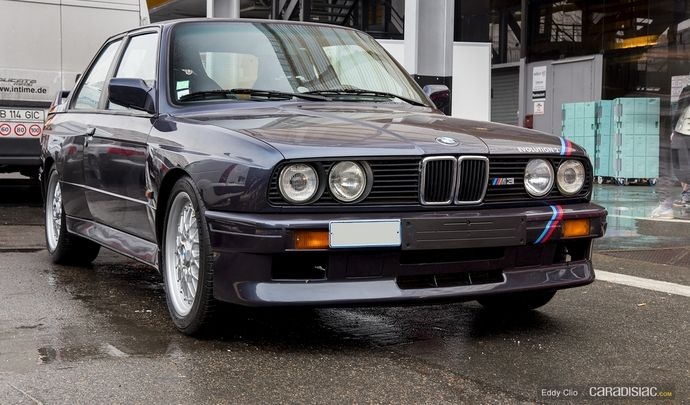 Photos du jour : BMW M3 Evo 2 (Rétromobile)