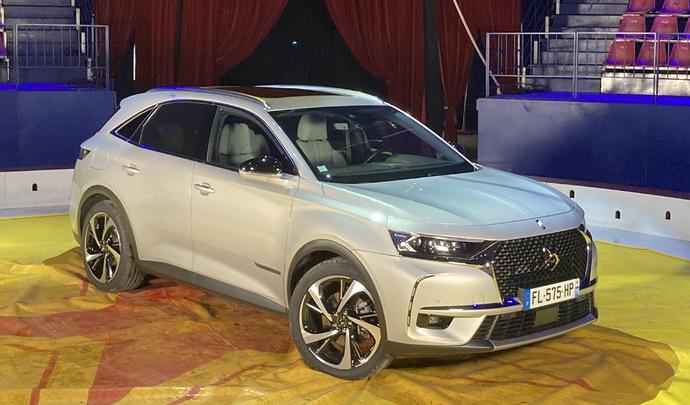 DS 7 E-Tense : luxe et techno - Salon Caradisiac Electrique/hybride 2021
