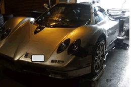 Record : 336.000€ de frais de réparation pour une Pagani Zonda accidentée