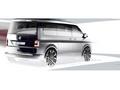 Volkswagen montre (en dessin) une partie du nouveau Transporter