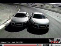 Vidéo Audi R8: qui s'en lasse ?