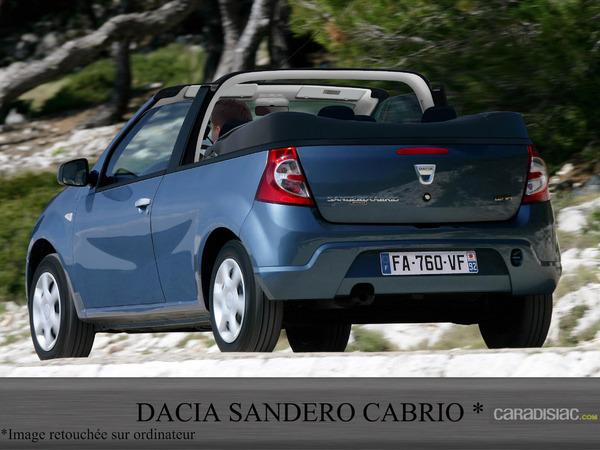 Si Dacia créait un cabriolet ?