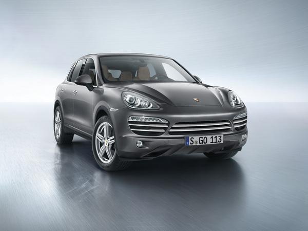 Porsche lance un Cayenne Platinum Edition