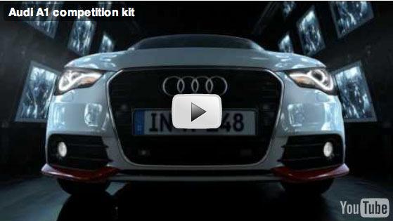 "(Vidéo) Audi A1 ""Competition kit"""
