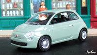 Miniature : 1/43ème - la nouvelle FIAT 500