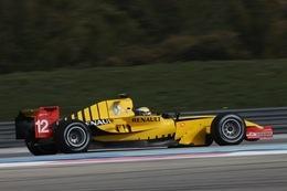 GP2: DAMS aux couleurs de Renault F1