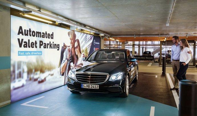 Le système de voiturier autonome Mercedes autorisé en Allemagne