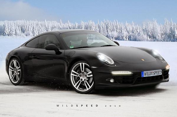 Future Porsche 911 : à peu près comme ça