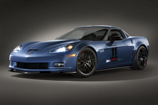 Corvette Z06 Carbon Edition : vendue aux enchères