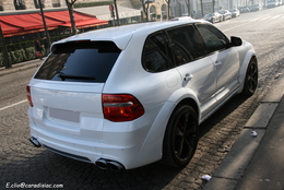 Photos du jour : Porsche Cayenne Techart Magnum