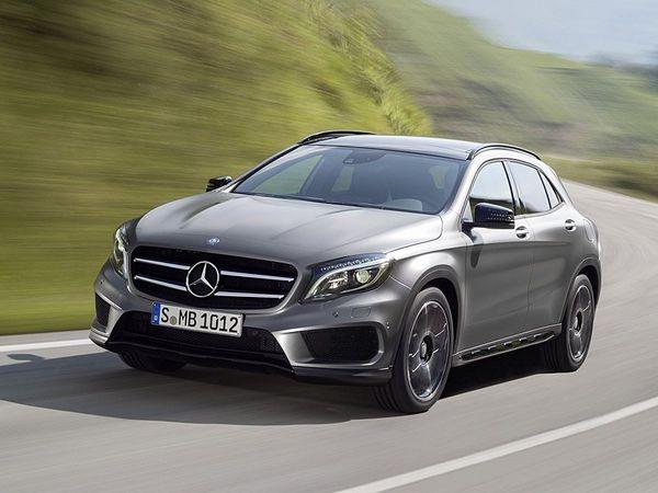 Nouveau Mercedes GLA: à partir de 30400 €