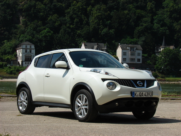 Nissan Juke : consommation et émissions de CO2 en baisse