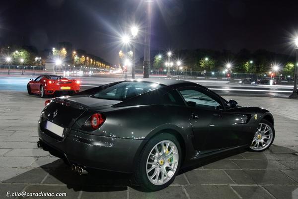 Photos du jour : Ferrari 430 Spider et F599 GTB