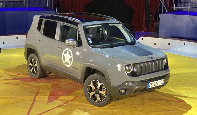 Jeep Renegade 4xe : baroudeuse des villes et des champs - Salon Caradisiac Electrique/hybride 2021