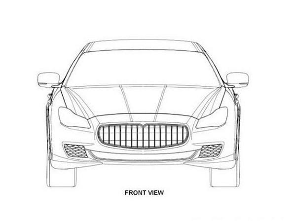 Maserati Quattroporte: la prochaine génération en croquis