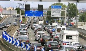 Etude : deux tiers des Français vont travailler en auto