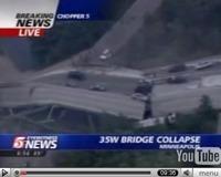 Un pont s'effondre aux USA, bilan encore inconnu