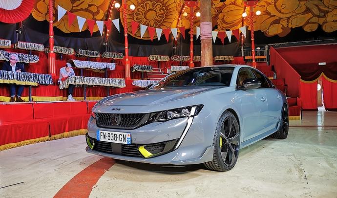 Peugeot 508 PSE : la plus puissante des Peugeot est hybride - Salon Caradisiac Electrique/hybride 2021