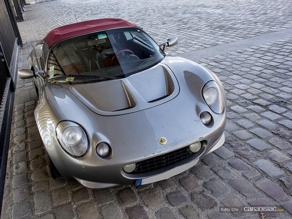 Photos du jour : Lotus Elise 111S