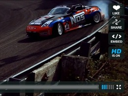 Drift : Chris Forsberg assure le show dans sa 350 Z Roadster NOS