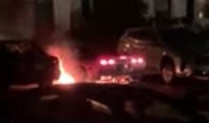 Il brûle sa Corvette en faisant des rupteurs