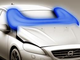Volvo : l'airbag piéton restera sur la V40