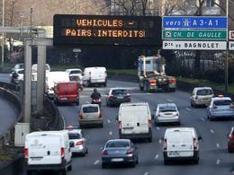 La circulation alternée ne sera pas reconduite mardi
